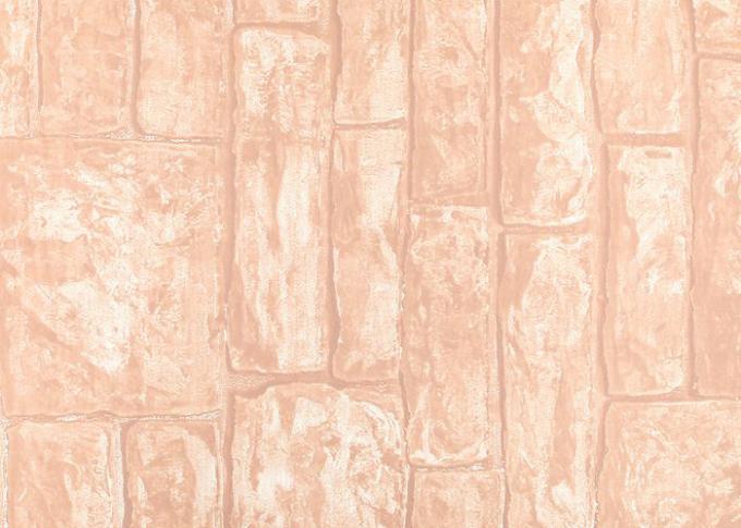 Zacht niet geweven 3d het effect van de textuurbaksteen behang voor woonkamerdecoratie - Behang effect van materie ...