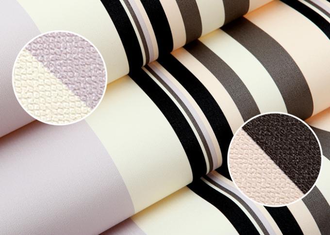 Commerci le eigentijdse muurbekledingen met brede en smalle strepen pvc behang - Eigentijdse high end tapijten ...