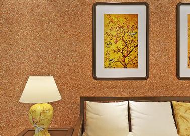 0.53*10m Micamuur het Behandelen/niet - de Geweven Gele Kleur van het Woonkamer Moderne Behang