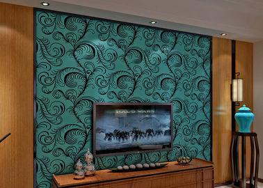 De Troepbehang van het luxe rangschikt het Geluiddichte Fluweel/het 3D Muur Behandelen met 0.7*10M, Vriendschappelijke Eco