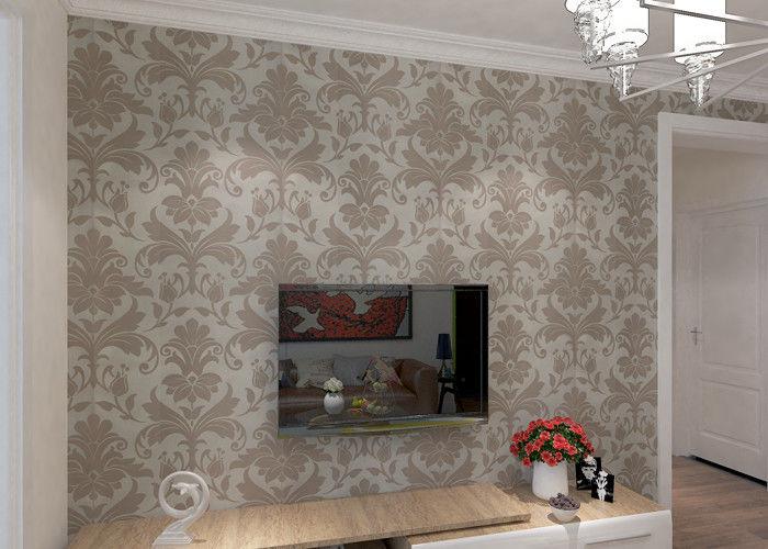Niet geweven modern klassiek bloemenbehang voor huisdecoratie m
