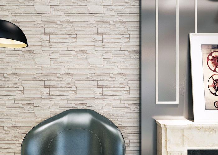 Binnenlands de baksteeneffect van de huisdecoratie d behang het