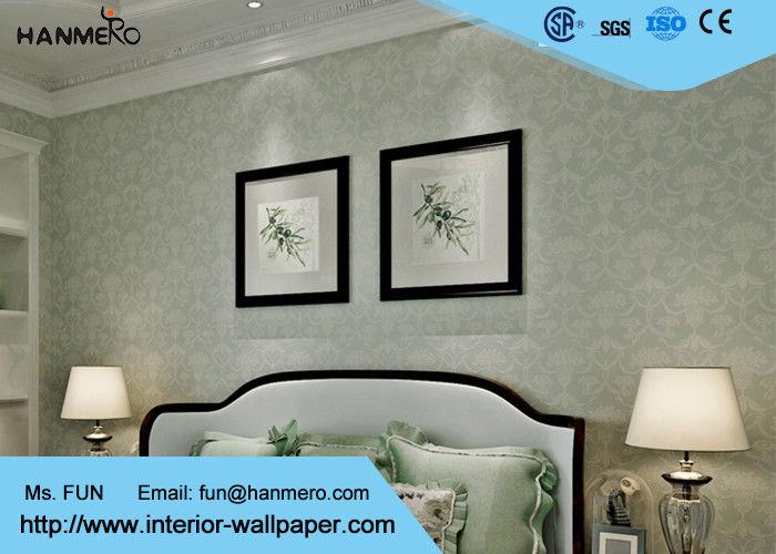 Behang van het eco het vriendschappelijke klassieke grijze patroon voor restaurant in reli f - Behang voor restaurant ...